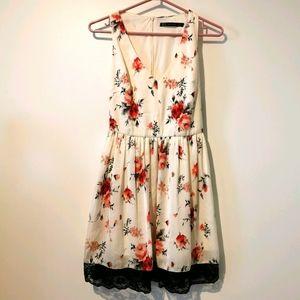 Zara medium floral dress